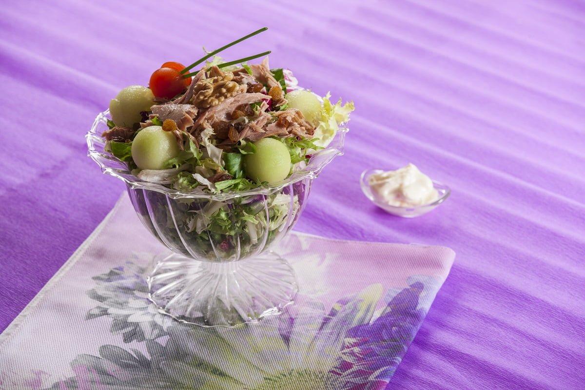 Salada Refrescante de Meloa e Atum 004 D