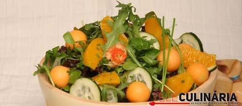 Salada de ervas variadas
