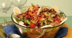 Salada de porco temperada
