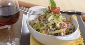 Salada avinagrada de coelho
