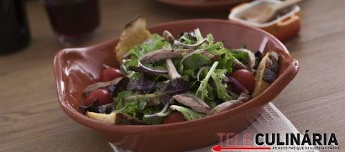 Salada de Bifanas com Broa de Milho TC 006 D