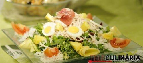 Salada de Frango 3 D