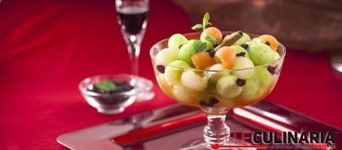 Salada de Meloa com Vinho do Porto e Hortela TC 006 D