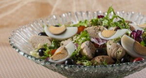 Salada de ovas