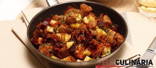 Salada de carne com beterraba 2 Detalhe