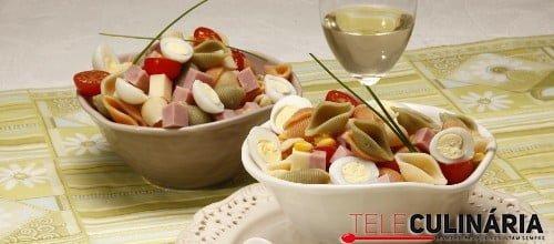Salada de pasta primaveril 2 D