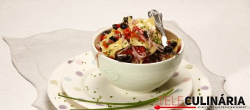 Salada de ravioli com fiambre e cebolinho 1 D