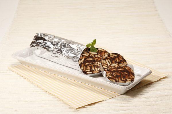 Salame de chocolate 11