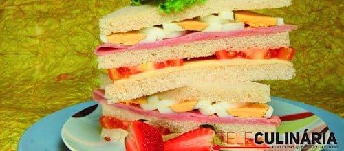 Sanduíche deliciosa