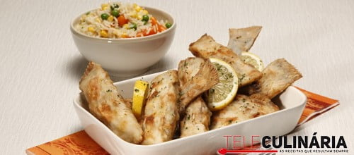 Solha frita com arroz primavera 2 D
