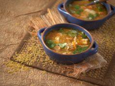 Sopa de Peixe e Agrião com Massinhas