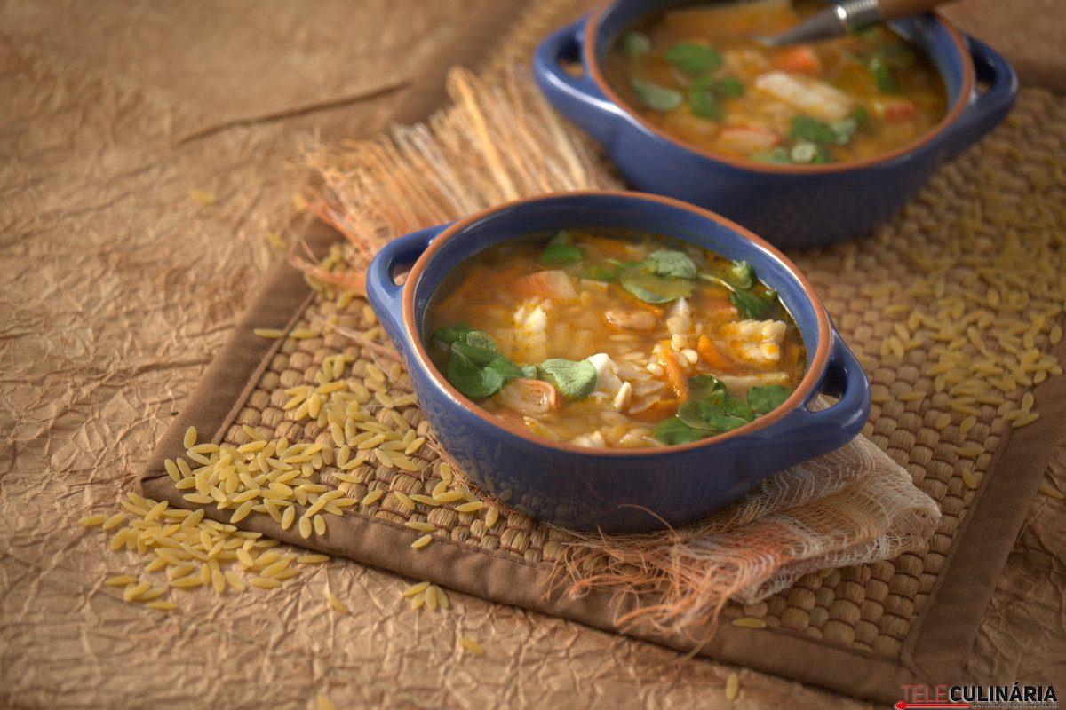 Sopa de Peixe e Agriao com Massinhas TC 007