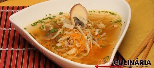 Sopa chinesa