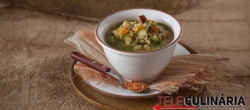 Sopa de Lentilhas TC 016 D