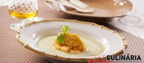 Sopa de Meloa com Amendoas 007 D