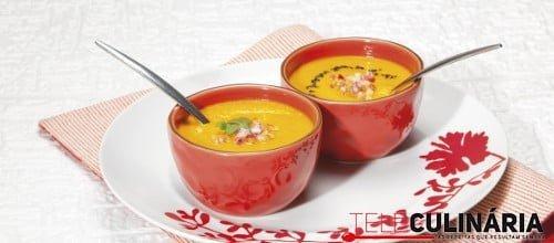 Sopa de cenoura com maca 2 D