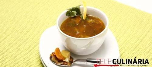 Sopa de lentinlhas e batata doce 6 DETALHE