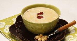Sopa picante de grão e chouriço
