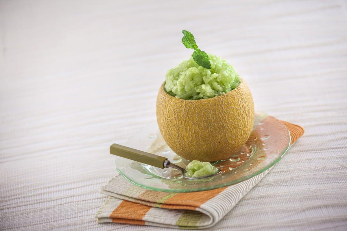 Sorvete de Meloa
