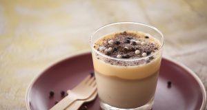 Mousse de café e chocolate branco