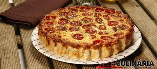 Tarte de tomate cereja 6 D