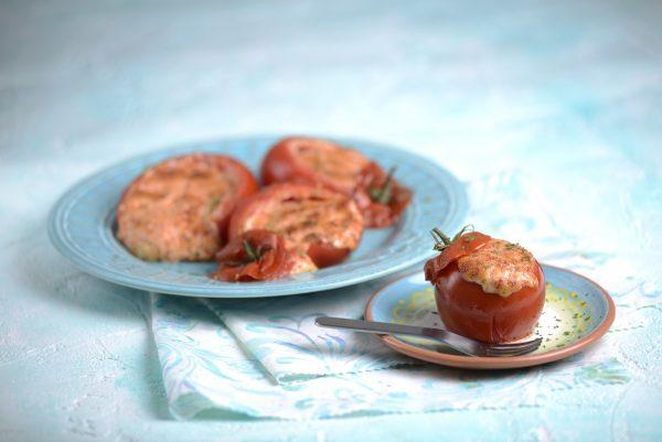Tomates assados recheados 2 D
