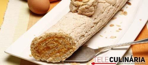 Torta de amêndoa e pão ralado