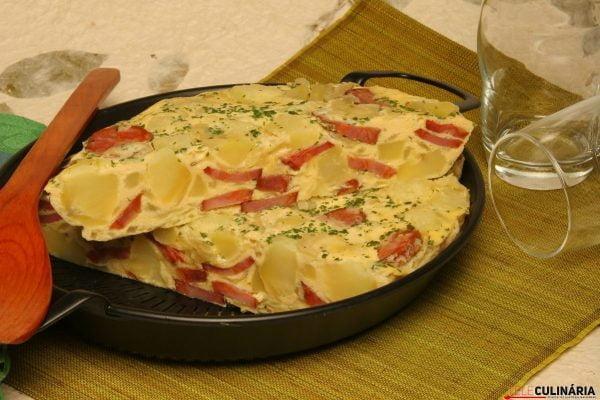 Tortilha Espanhola TeleCulinaria