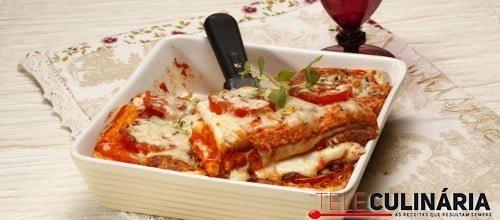 Tosta mista no forno com tomate