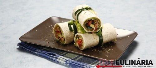 Wraps de legumes