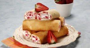 Wraps doces marmorizados
