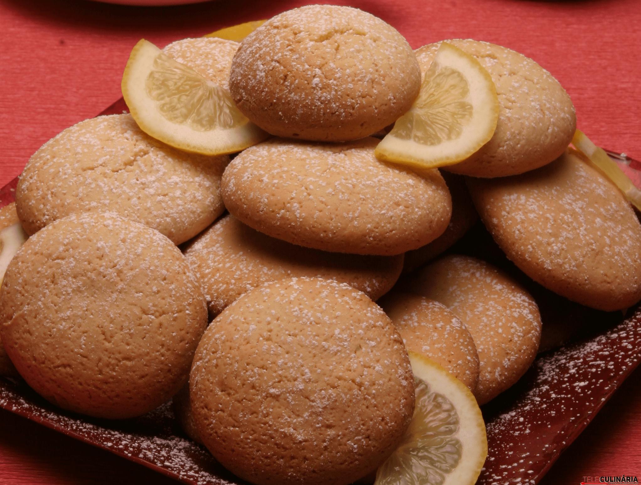 bolachas de manteiga e limao