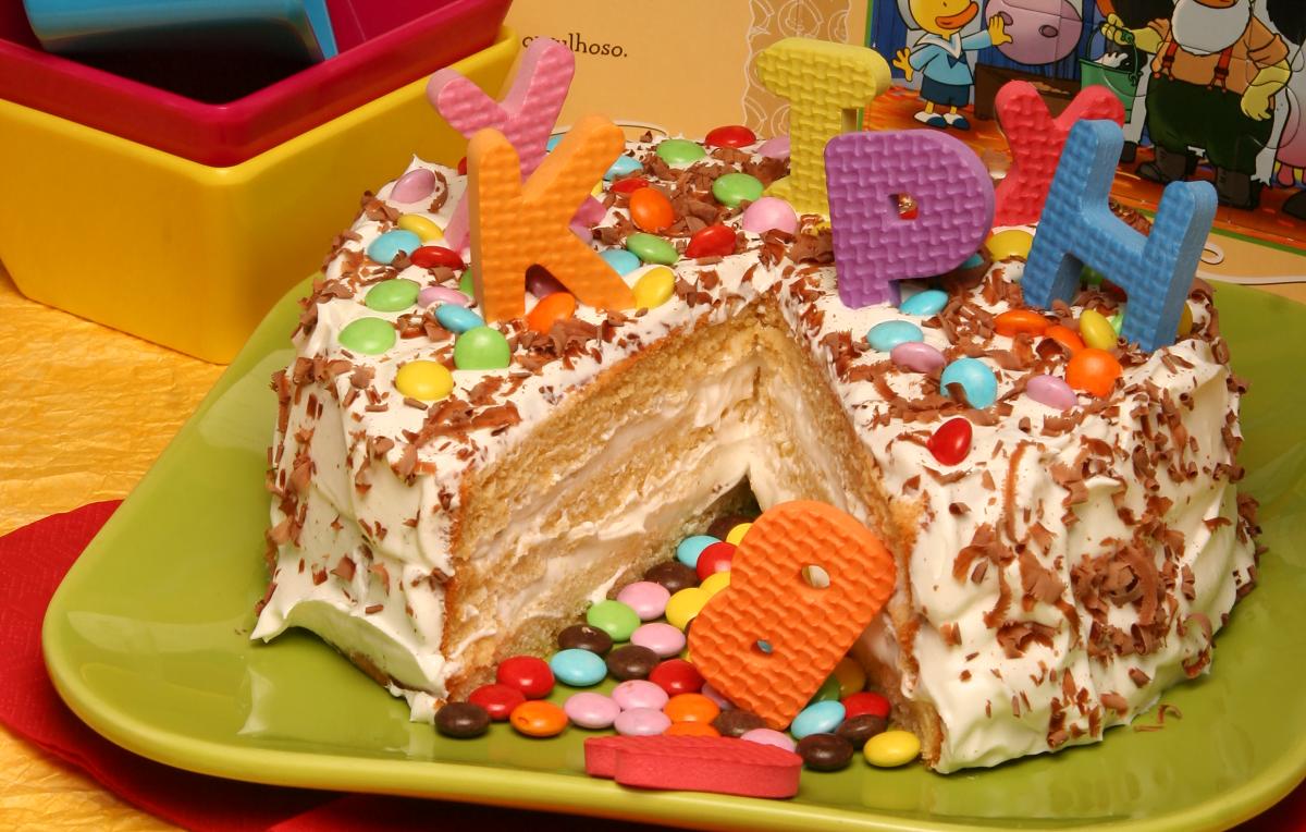 bolo dia da criança