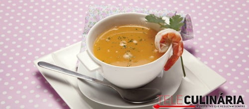 Canja de camarão