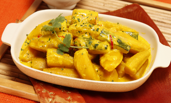 caril de batata doce