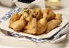 chamuças de bacalhau com caril