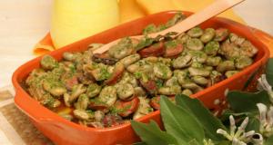 favas guisadas à portuguesa