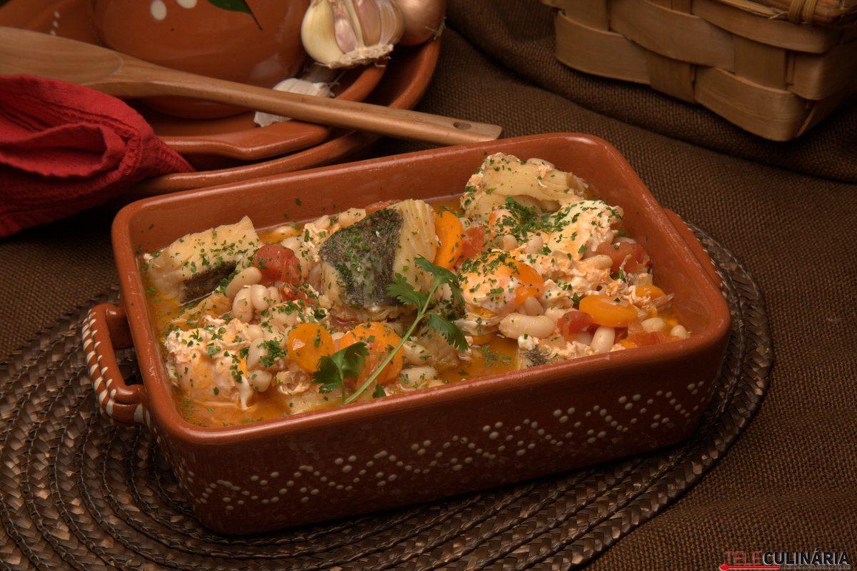 feijoada de bacalhau com ovos escalfados 4