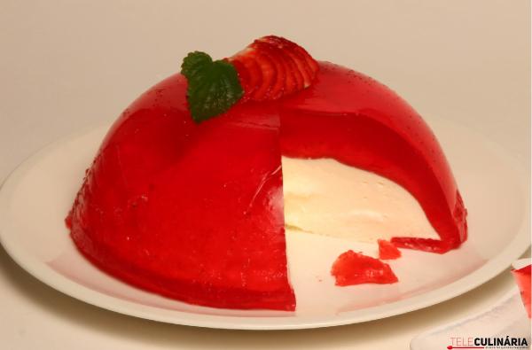 fofo de gelatina