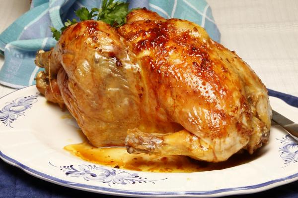 galinha corada