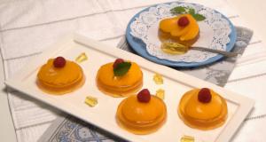 mini tartes de pêssegos