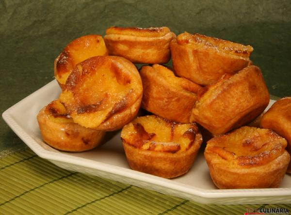 pasteis de nata caseiros