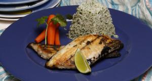 peixe espada grelhado