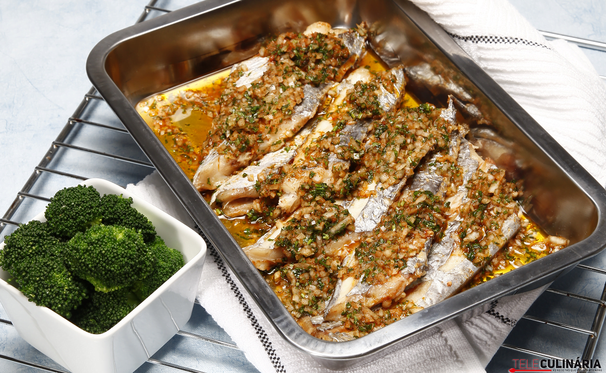 peixe espada no forno