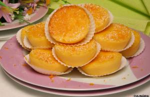 queijadas de requeijão com laranja