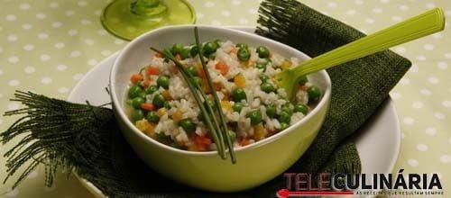 risoto de ervilhas e pimentos 2 DETALHE