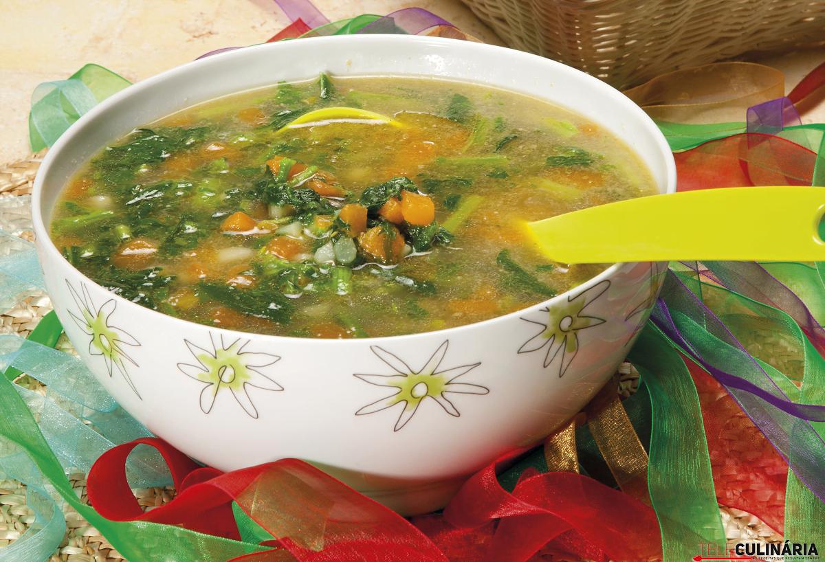 sopa de grelos com abobora 1