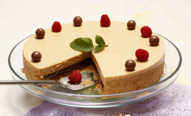 tarte de chocolate e leite condensado