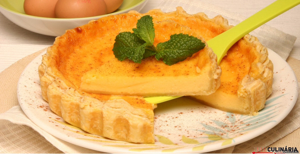 tarte pastel de nata
