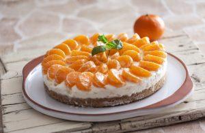 cheesecake de clementinas